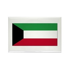 Flag of Kuwait Rectangle Magnet