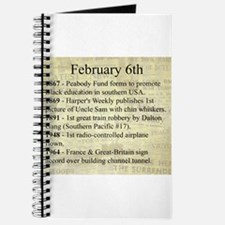 February 6th Journal