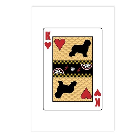 King Schapendoes Postcards (Package of 8)