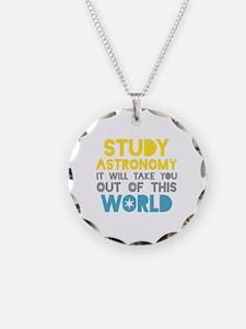 Study Astronomy Necklace