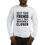Mens whiskey Long Sleeve T-shirts