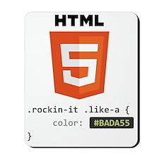 #BADA55 Mousepad
