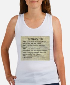 February 4th Tank Top