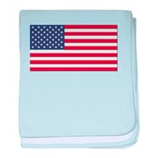 Flag of the United States baby blanket