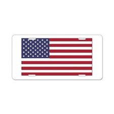 Flag of the United States Aluminum License Plate