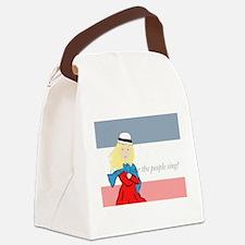 Cute Les miserable Canvas Lunch Bag