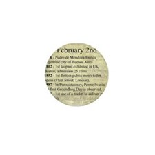February 2nd Mini Button (10 pack)