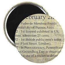February 2nd Magnets