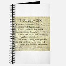 February 2nd Journal
