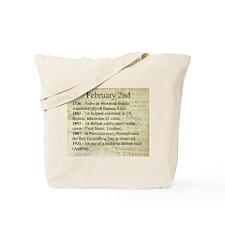 February 2nd Tote Bag