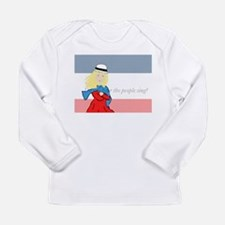 Cute Sings Long Sleeve Infant T-Shirt
