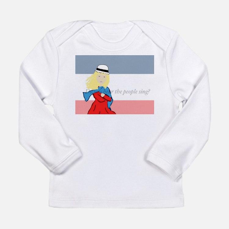 Cute Cosette Long Sleeve Infant T-Shirt