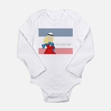 Unique Les miserable Long Sleeve Infant Bodysuit