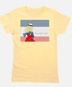 Cute Les miserable Girl's Tee