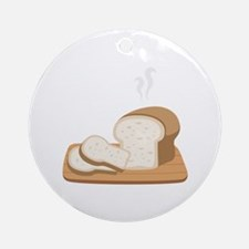 Loaf Bread Ornament (Round)