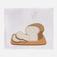 Loaf Bread Throw Blanket