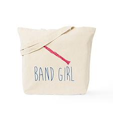 Band Girl Clarinet Tote Bag