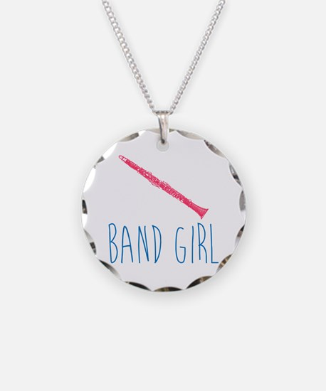 Band Girl Clarinet Necklace