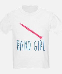 Band Girl Clarinet T-Shirt