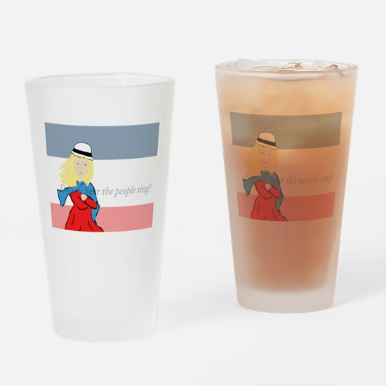 Cute Miserables Drinking Glass