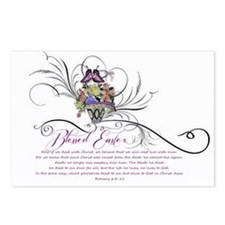 Blessed Easter Postcards (Package of 8)