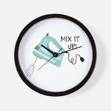 Mix It Up! Wall Clock