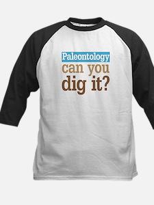 Paleontology Dig It Kids Baseball Jersey