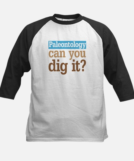 Paleontology Dig It Kids Baseball Jersey