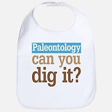 Paleontology Dig It Bib
