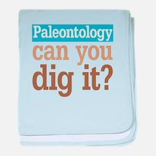 Paleontology Dig It baby blanket