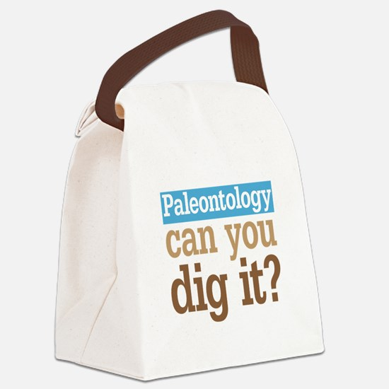 Paleontology Dig It Canvas Lunch Bag
