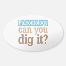 Paleontology Dig It Decal