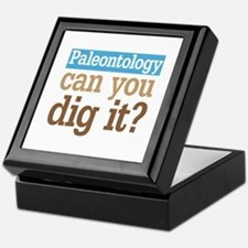 Paleontology Dig It Keepsake Box