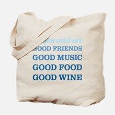 Good Friends Food Tote Bag