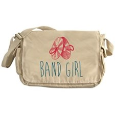 Band Girl Cymbals Messenger Bag