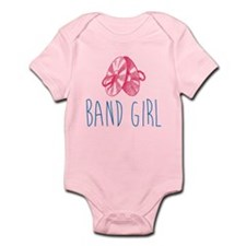Band Girl Cymbals Body Suit Infant Bodysuit