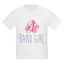 Band Girl Cymbals T-Shirt