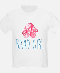 Band Girl Cymbals T-Shirt
