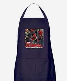 Deadpool Panels Apron (dark)