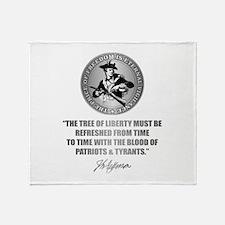 (Eternal Vigilance) Blood of Patriot Throw Blanket
