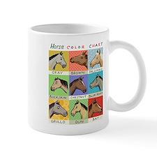 Horse Color Chart Mugs