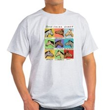 Horse Color Chart T-Shirt
