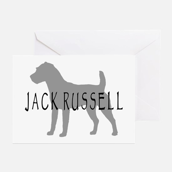 Jack Russell Dog Greeting Cards (Pk of 10)