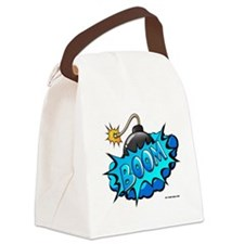 BOOM BOMB Canvas Lunch Bag