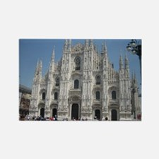 The Milan Cathedral Rectangle Magnet
