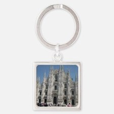The Milan Cathedral Square Keychain