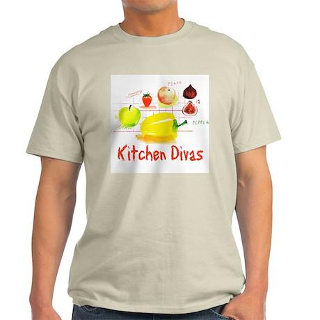 """""""Kitchen Divas"""" Light T-Shirt"""