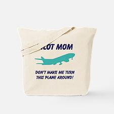 Pilot Mom Tote Bag