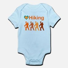 Love Hiking with Heart Infant Bodysuit