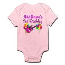 2 YR OLD ROCK STAR Infant Bodysuit